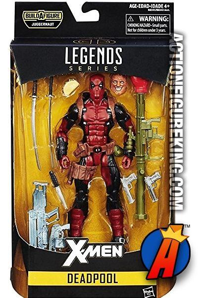 """Marvel Legends 6/"""" Inch Juggernaut BAF Wave Deadpool Loose Complete"""