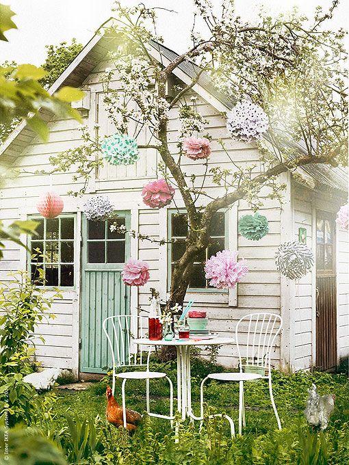 Comer en el jardín: ideas decorativas para triunfar como anfitriona