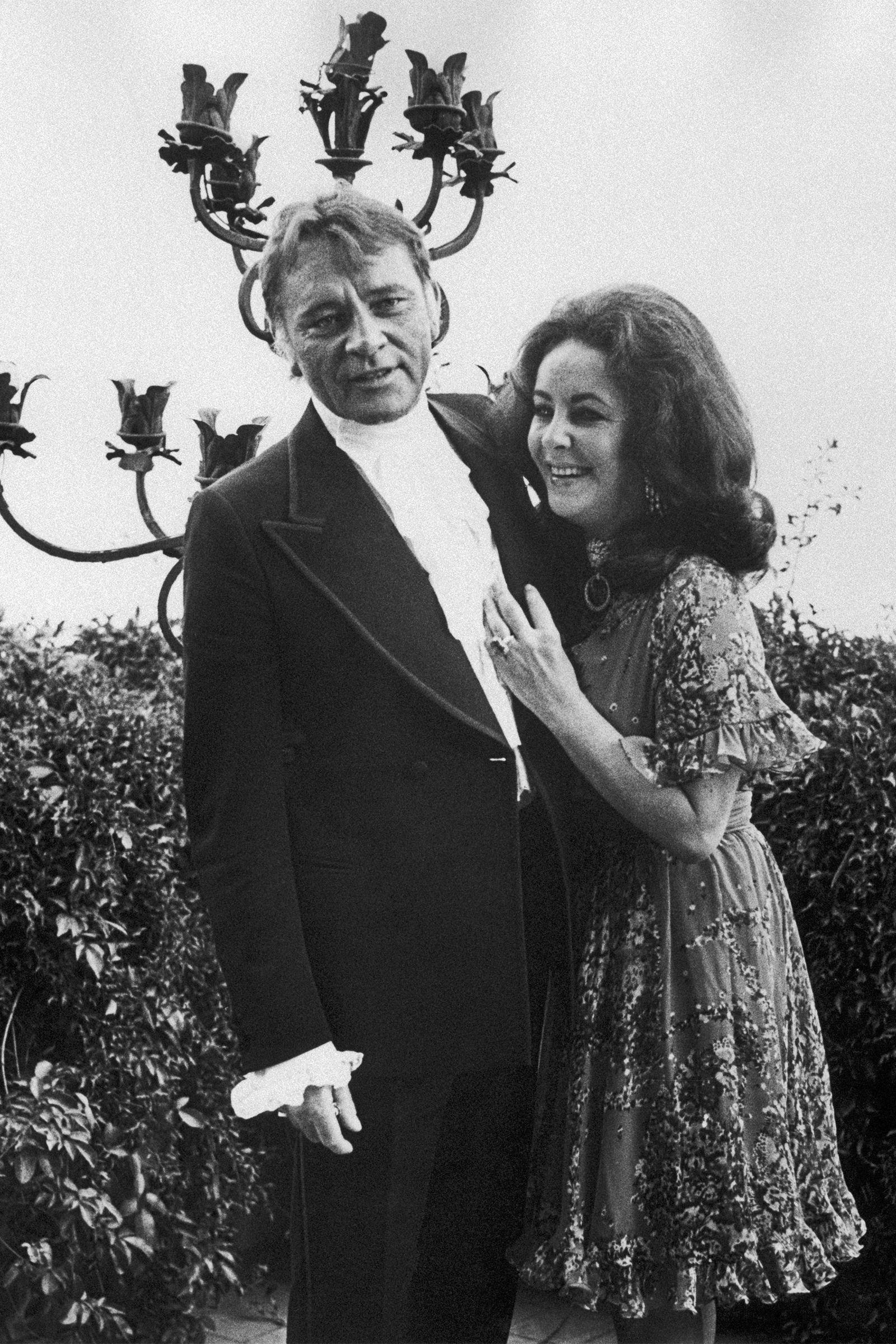 Liz taylor and richard burton relationship