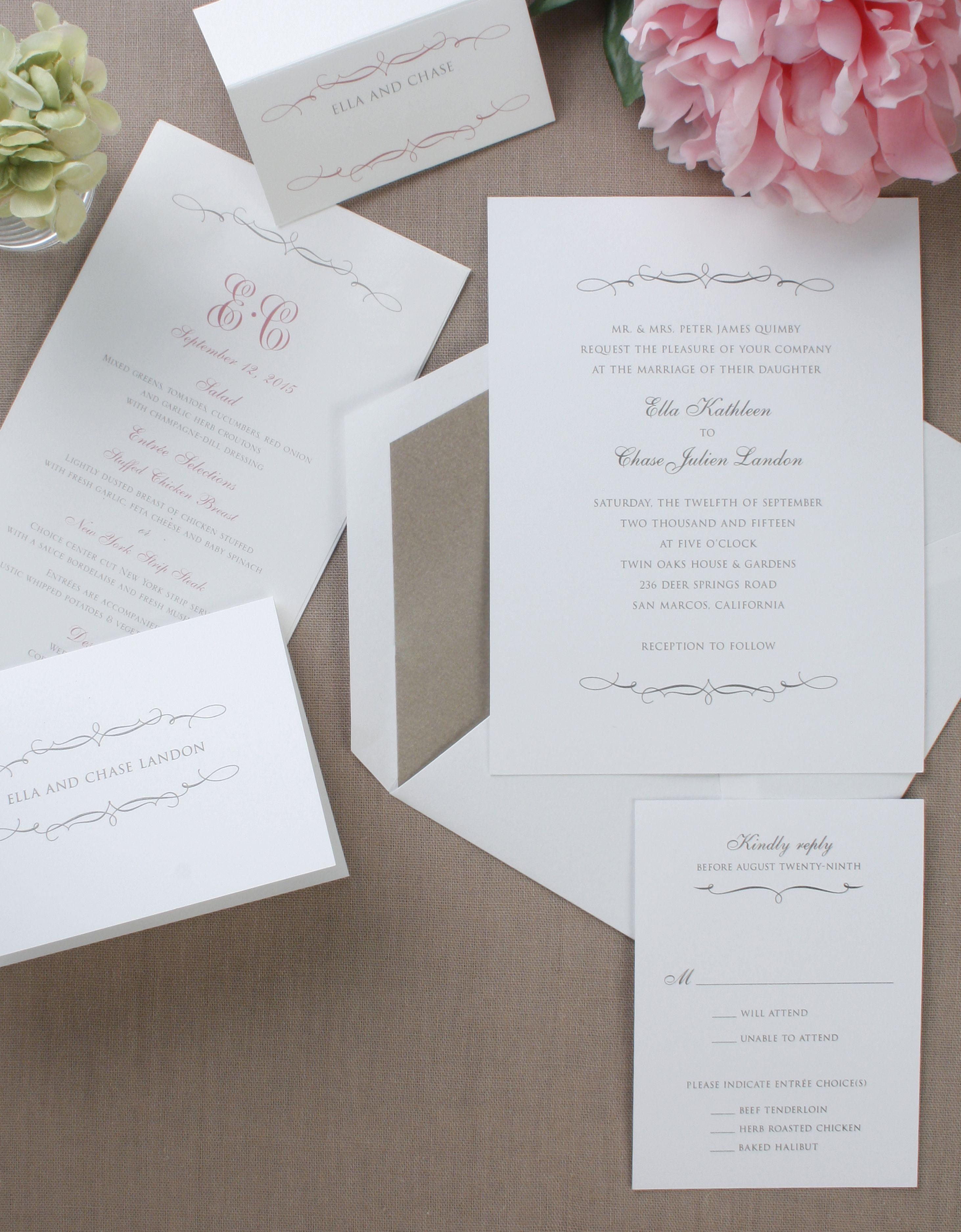William Arthur Truly   Wedding Invitations   Pinterest   William ...