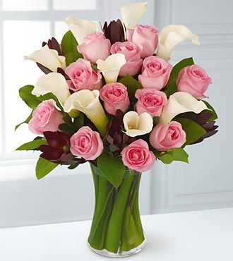 Fabled Beauty Bouquet Vase Included Arranjos De Flores