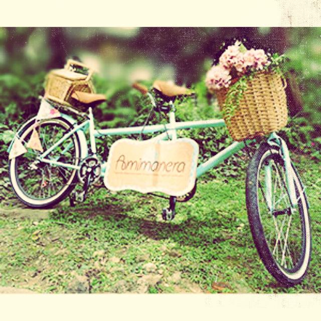 Bicicleta doble   ¿Estás listo para un paseo doble? Te ofrecemos nuestra bicicleta de dos puestos para tu sorpresa, evento o experiencia.