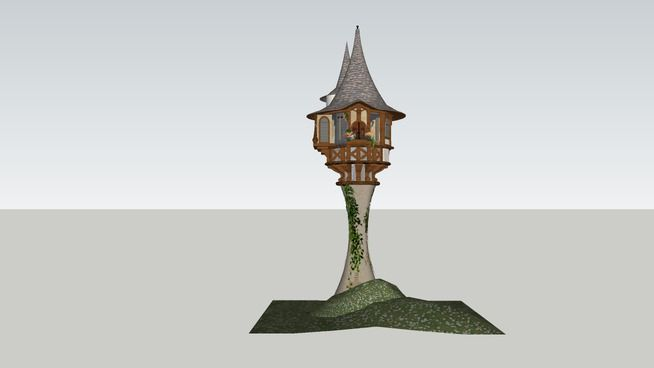 Pin By Wanru Zhao On Cs188 Tangled Tower Tower Novelty Lamp