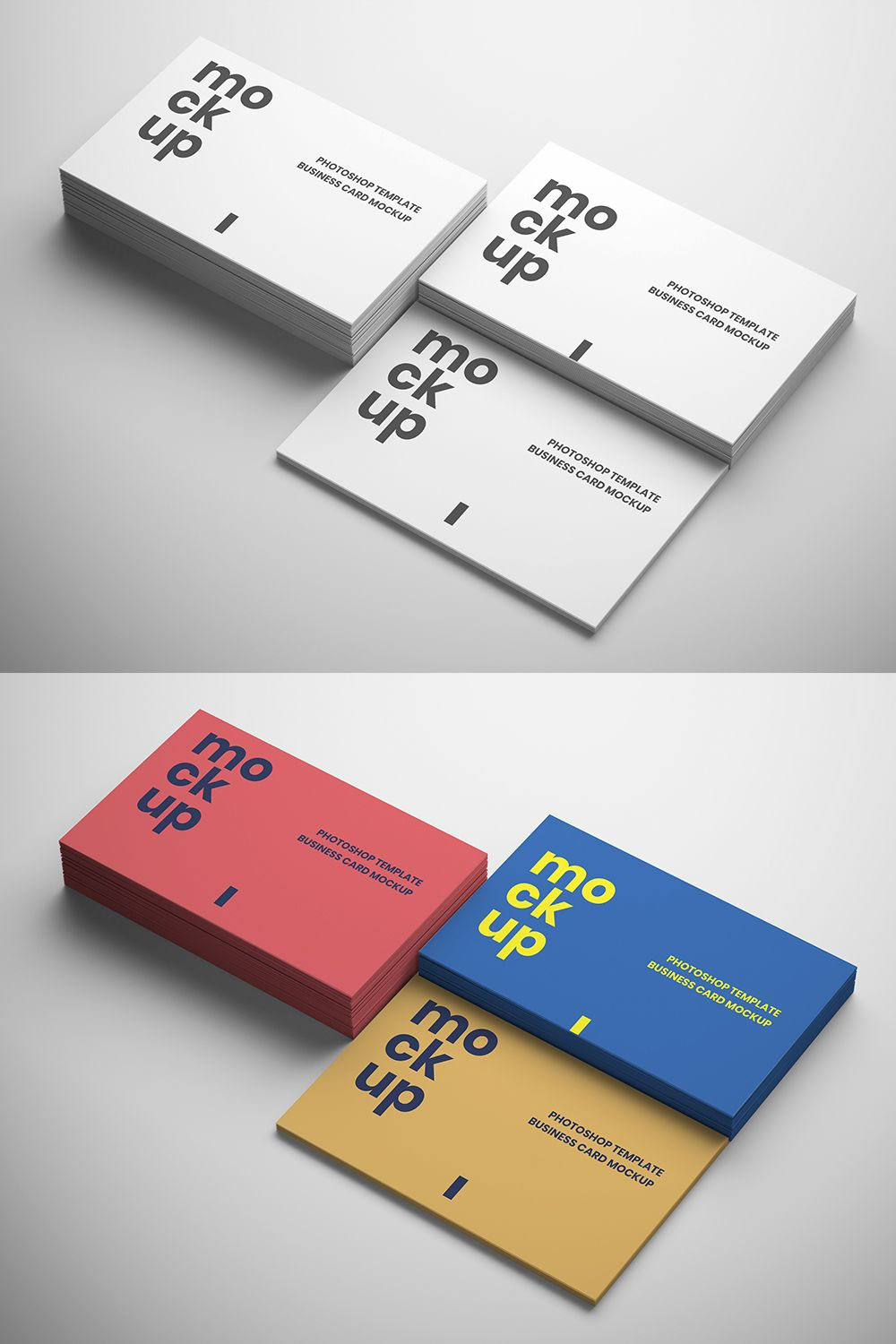 3 In 1 Business Card Mockups Free Download Business Card Mock Up Graphic Design Business Card Free Business Card Mockup