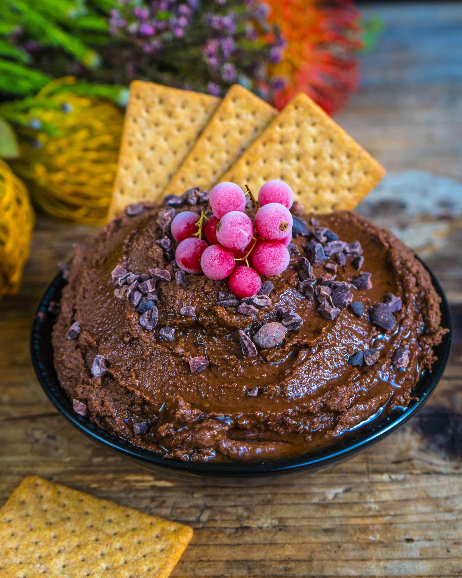 Schoko Hummus - Gesundes Nutella - Mrs Flury - Gesunde Rezepte