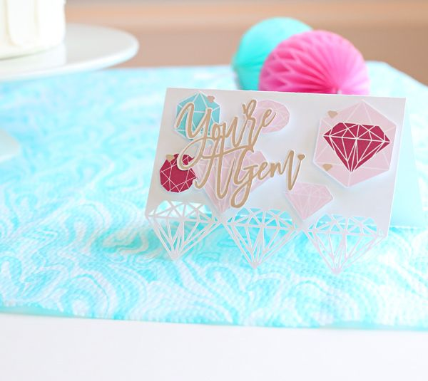 Card Making Party Ideas Part - 21: Card Making Idea - Youu0027re A Gem | Kim Byers