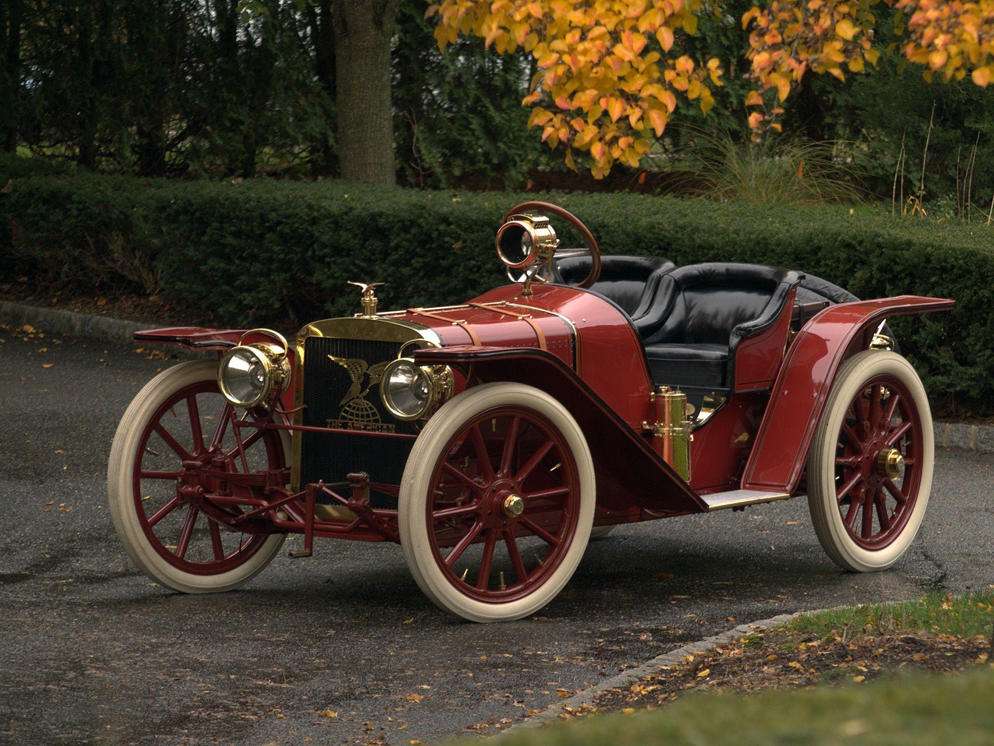 1907 American Model 40 Roadster Maintenance/restoration of old ...
