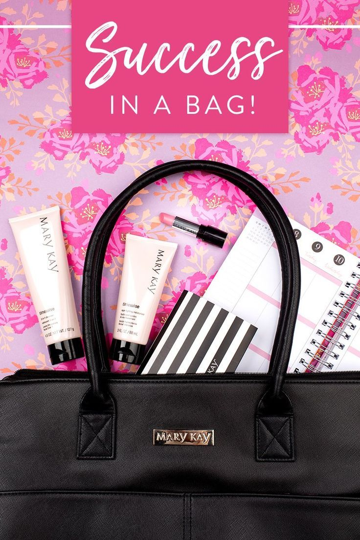 Success Is In The Bag Start Your Year Off Strong With All Tools You Need To Own Business Mary Kay
