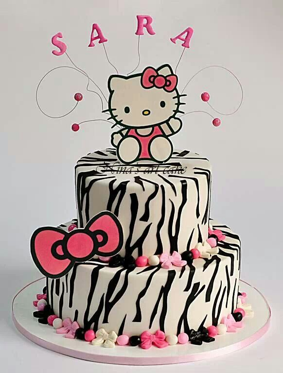 Hello kitty birthday cake I think I just died HK Birthday