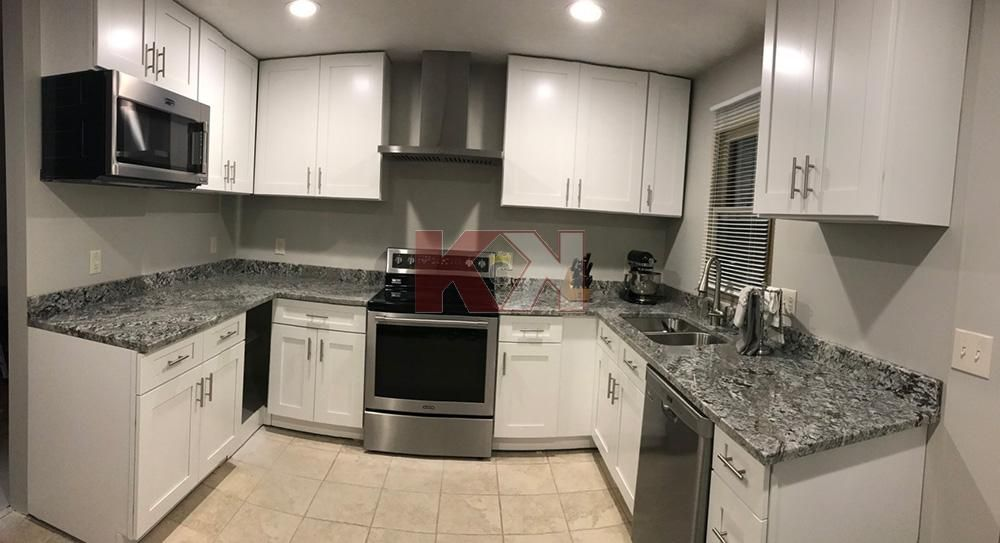 Kitchen Cabinet Kings Reviews Testimonials Chose Ice White Shaker Pre Assembled Cabinets Kitchen Design Small Kitchen Cabinet Kings Used Kitchen Cabinets