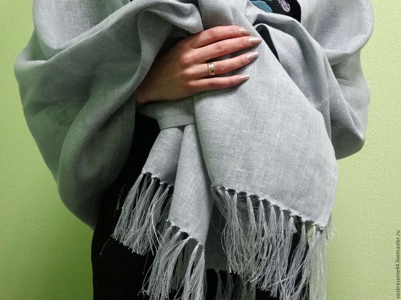 шарфы платки палантины садовод