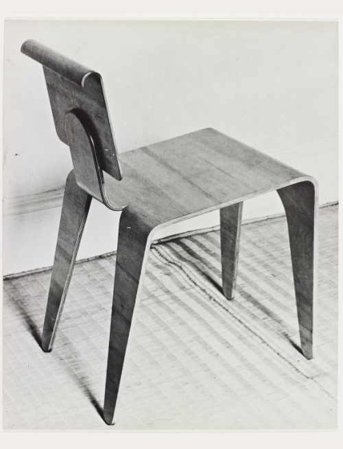 Marcel Breuer Stackable Plywood Chair 1935 Made By Isokon London