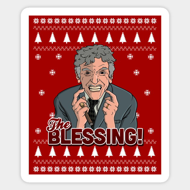 The Blessing!!!! Christmas Vacation Sticker