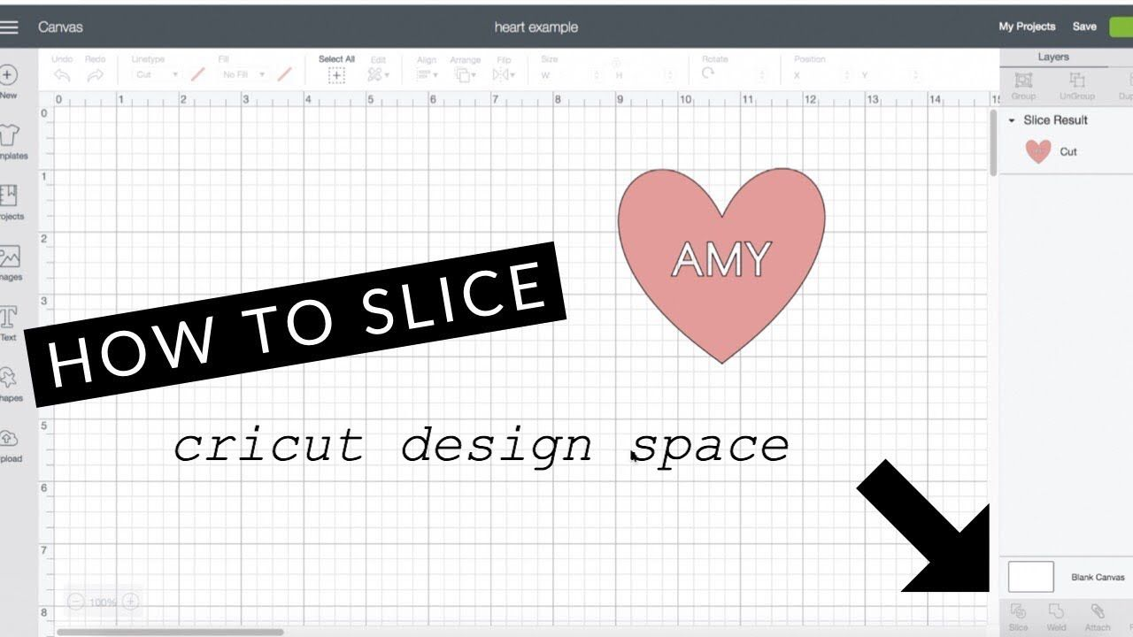 Why Is My Slice Tool Not Working Cricut Design Space Cricut Design Cricut Cricut Tutorials