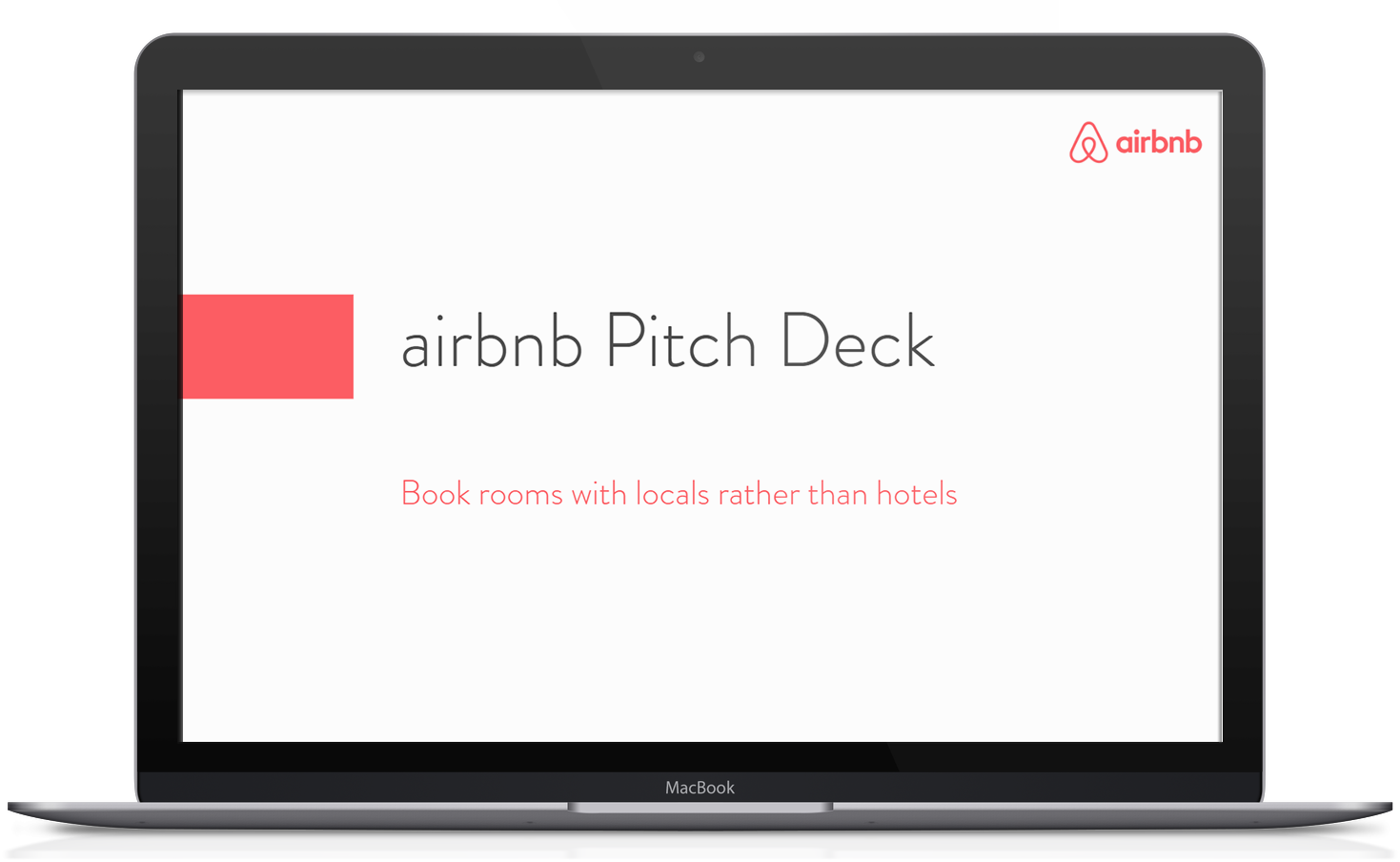 Airbnb Pitch Deck Template Free PDF & PPT Download