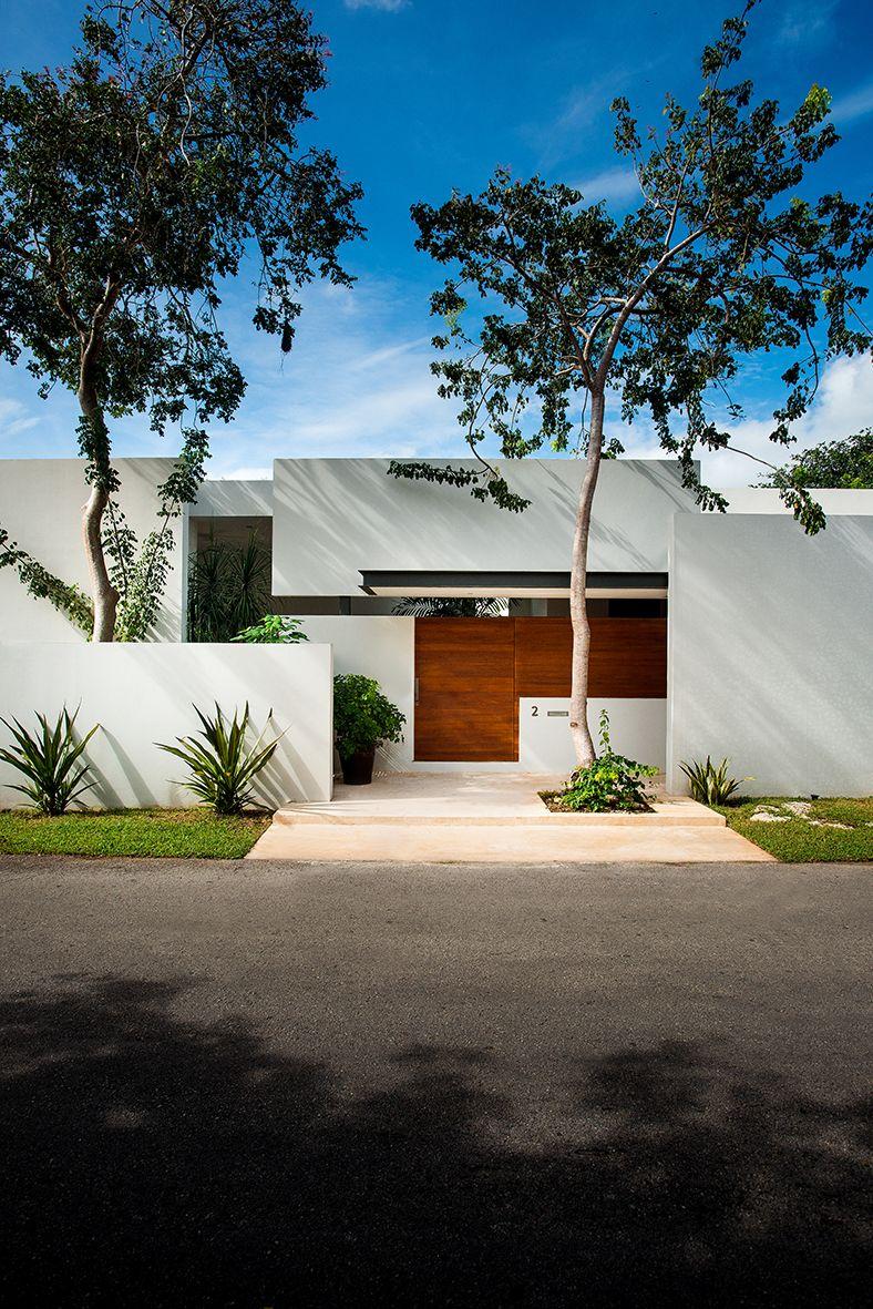 Modern Guard House Design: Sensacional, Cuadrada Y Minimalista