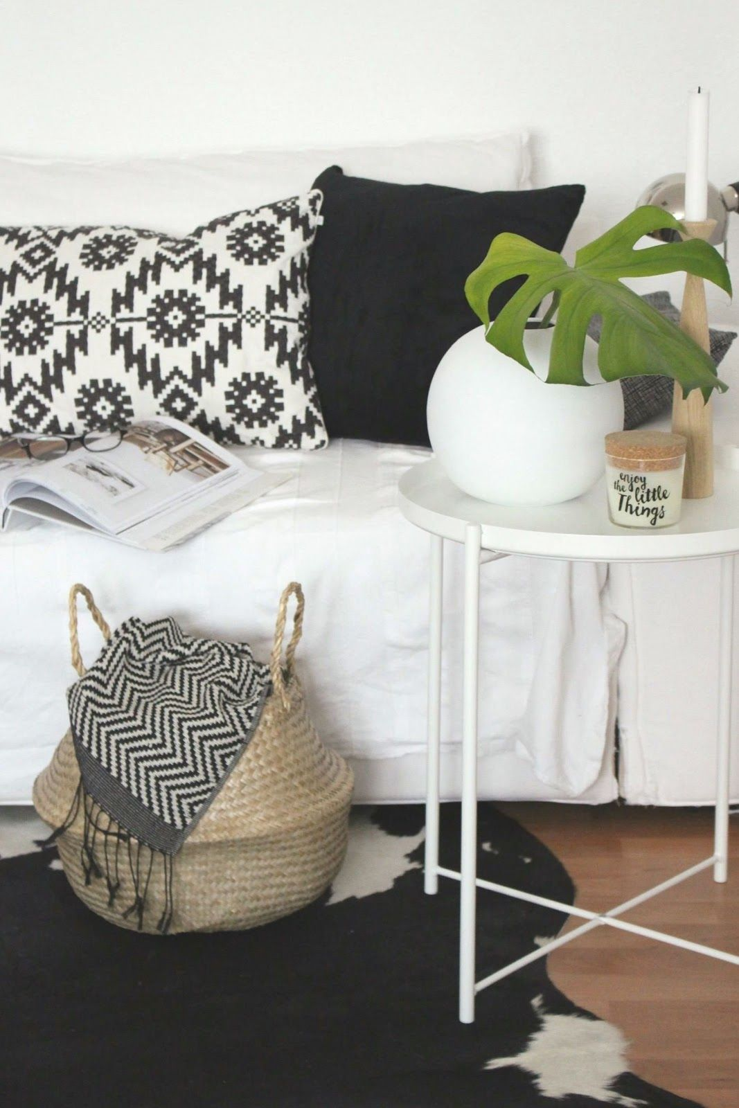 Inspiration, Interior, Dekoration, Wohnzimmer, Couch, Styling ...