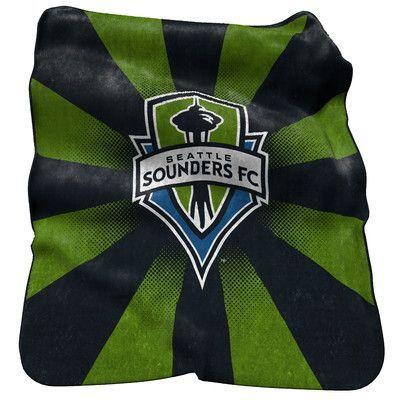 Logo Chairs MLS Seattle Sounders Raschel Throw