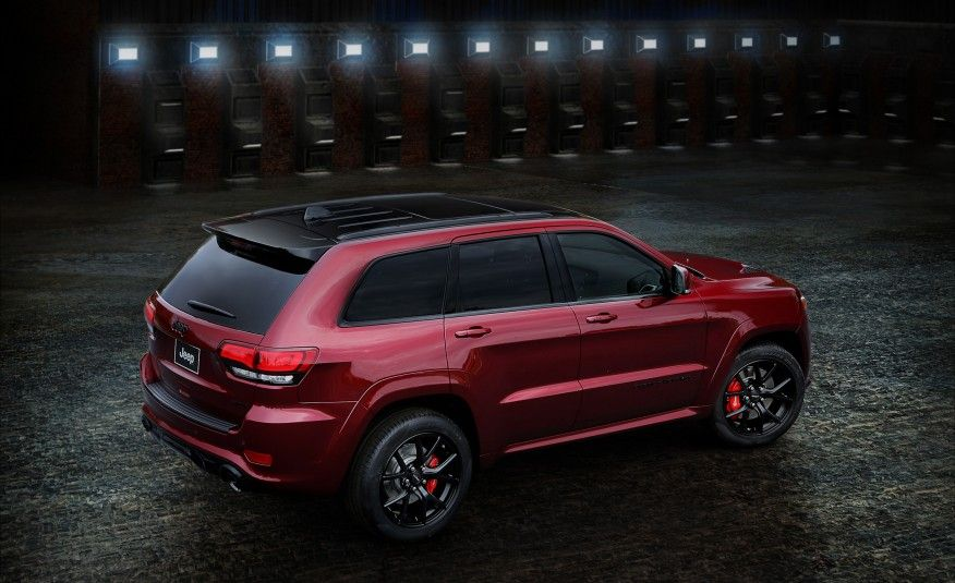 2016 Jeep Grand Cherokee SRT Night Edition Pictures New