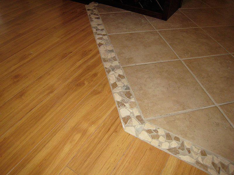 Tile hardwood transition | Flooring, Transition flooring ...