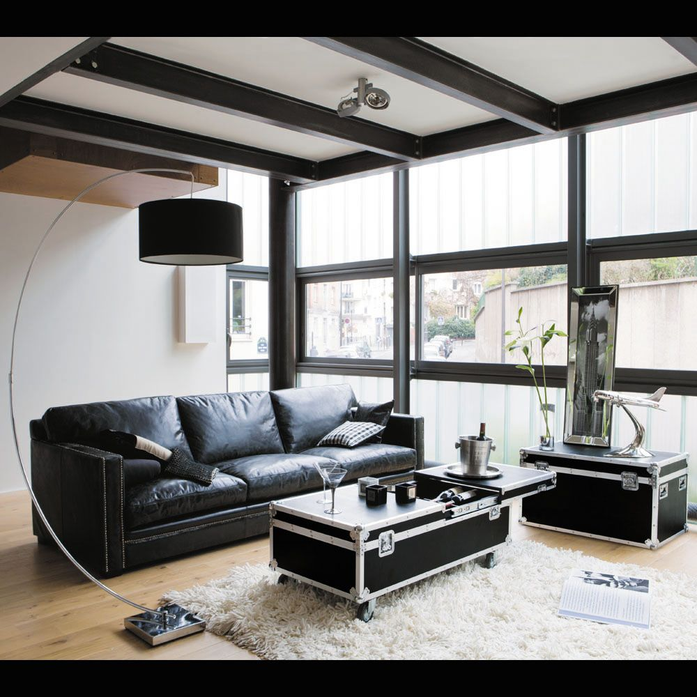 Living Room Cases: Room Decor, Black Floor