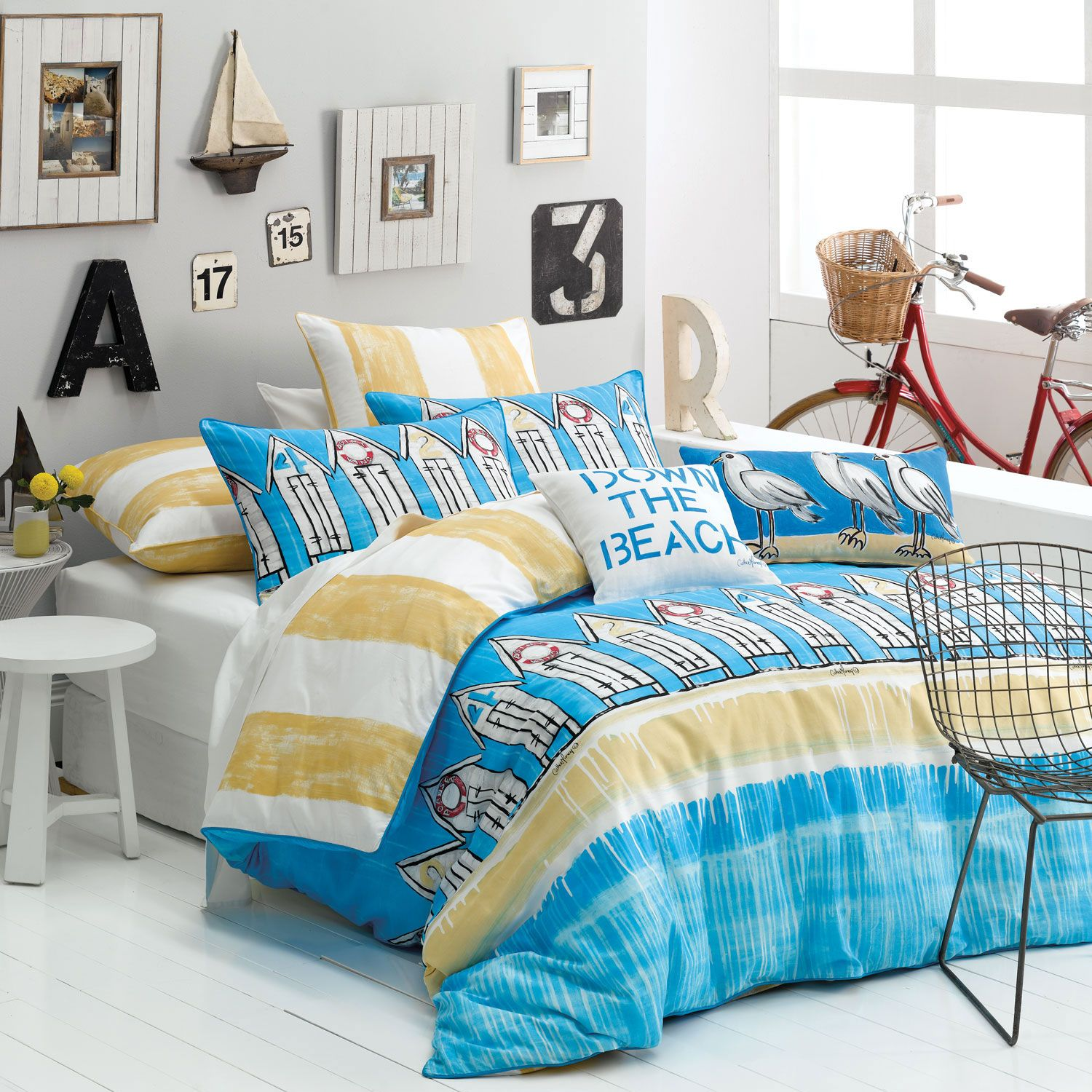 king size beach quilts Down The Beach Quilt Cover