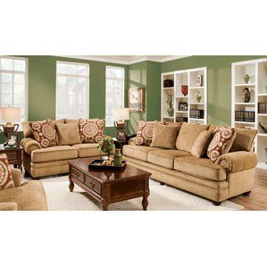 Ria Configurable Living Room Set by Chelsea Home Reviews is part of Chocolate Sectional Living Room -