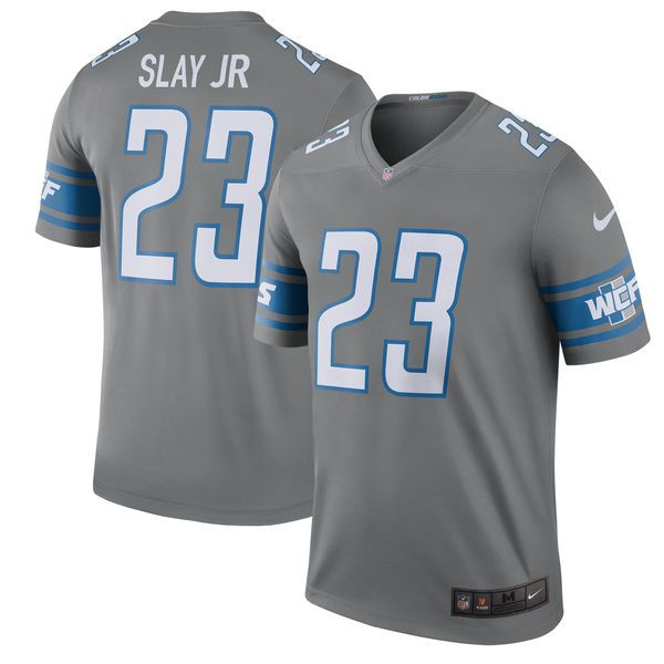 221ecd43a Darius Slay Detroit Lions Nike 2017 Color Rush Legend Jersey - Steel -   79.99