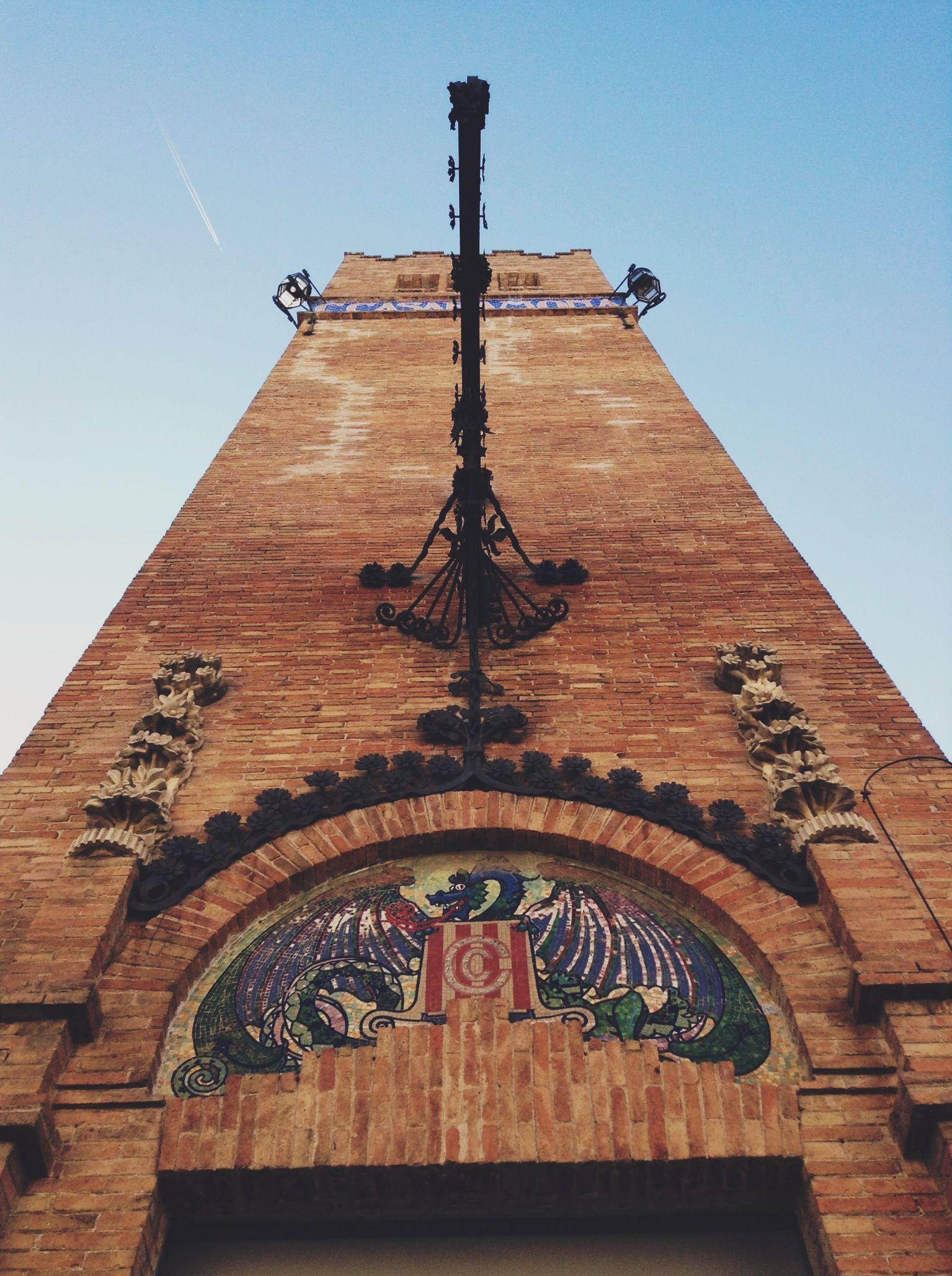 Caixafòrum (antiga fàbrica modernista dels Casaramona), Barcelona.