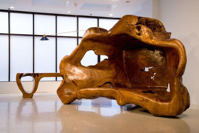 Hugo França's 'Casulo Cariru' sculpture