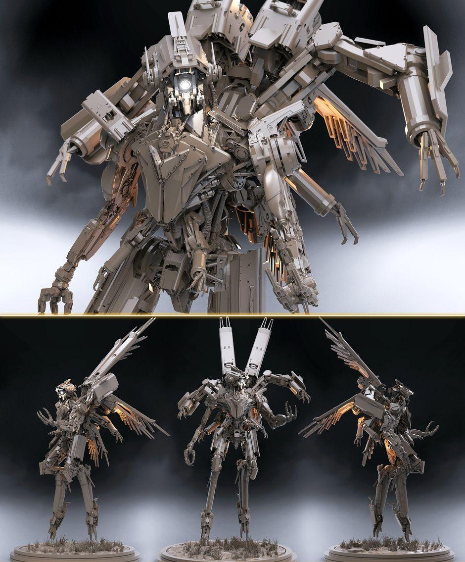 Recon unit by James Suret   Robotic/Cyborg   3D   CGSociety