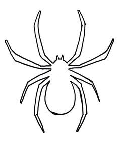 Image Result For Spider Template Printable For Preschool