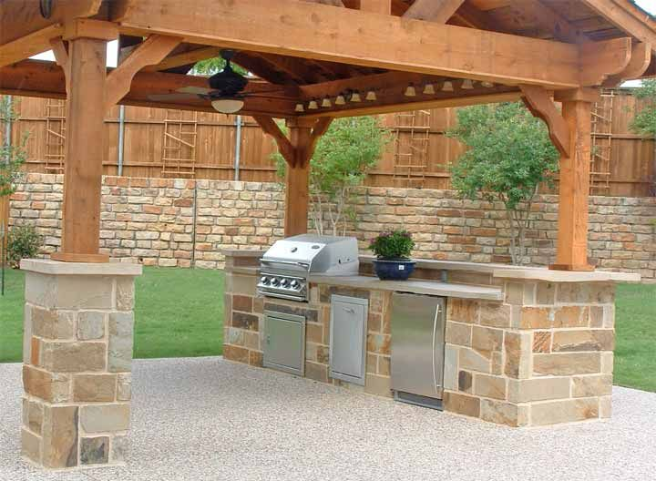 Cocinas rusticas para exteriores google haku for Decoracion para patios exteriores