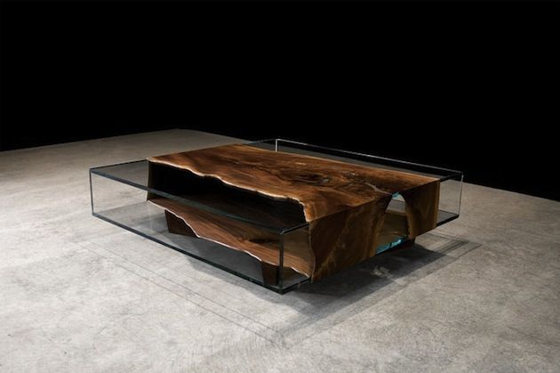 John Houshmand Raw Wood Tables and Furniture Wood furniture is an