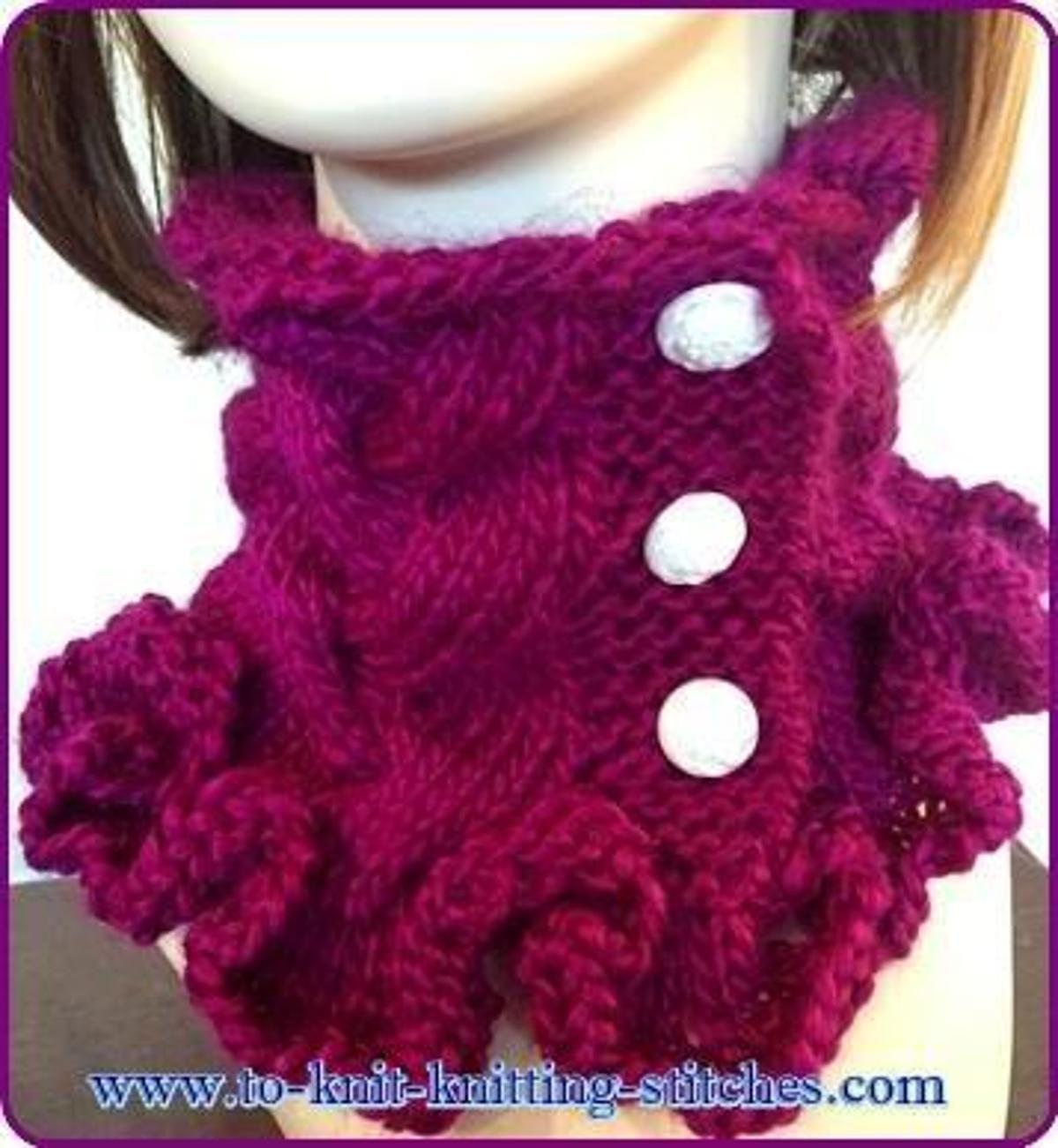 Sweet Valentine Cowl | Craftsy