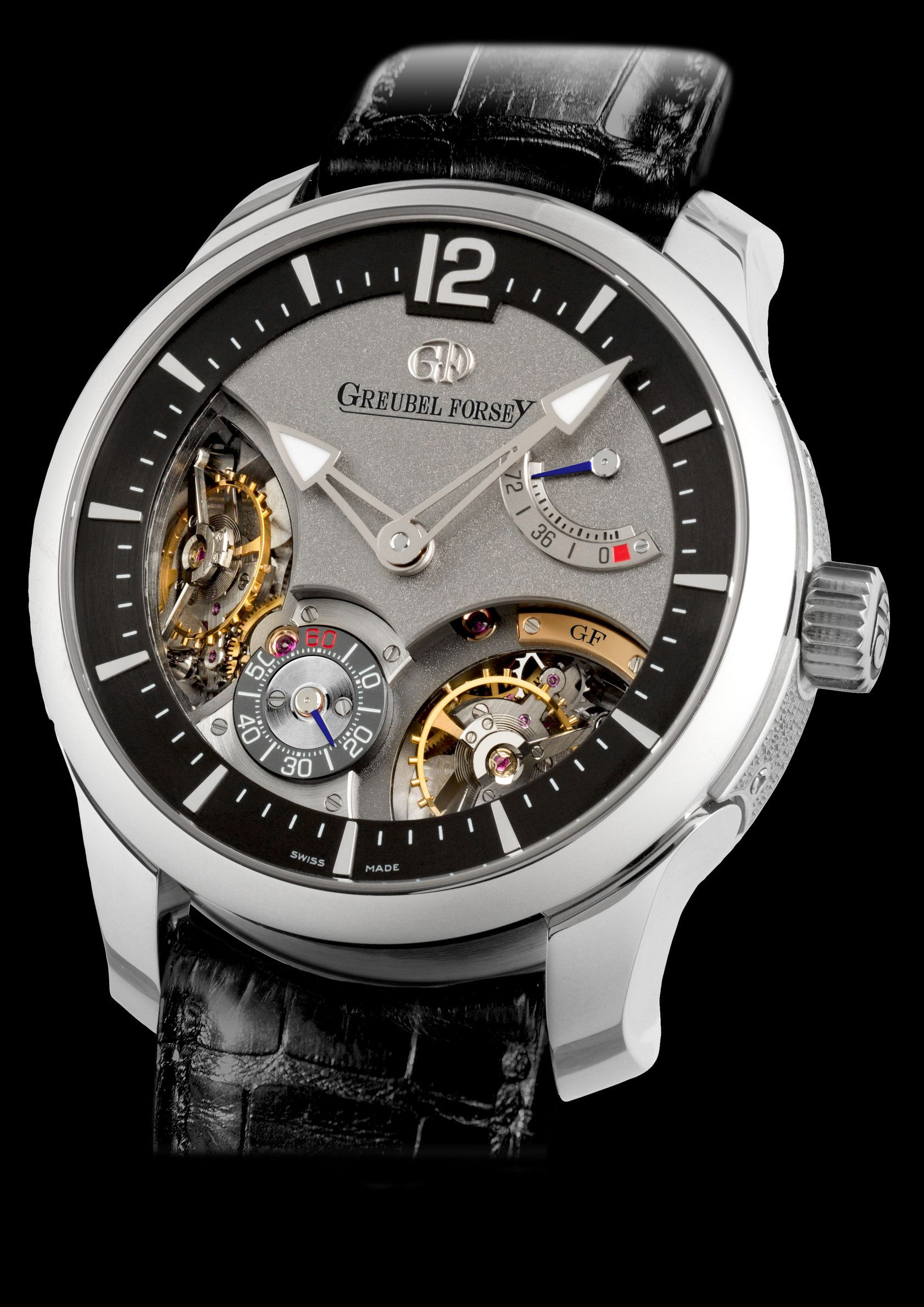 Double Balancier 35° by GREUBEL FORSEY  (I just stopped breathing
