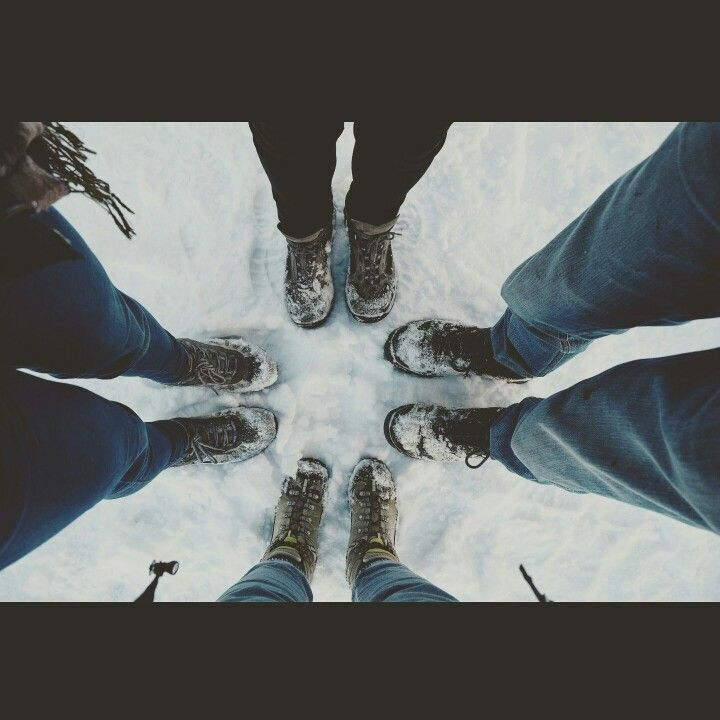 Snow & friends.