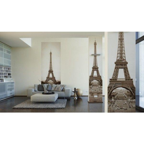 Lé unique vertical Eiffel Tower de chez Architect papers DECO