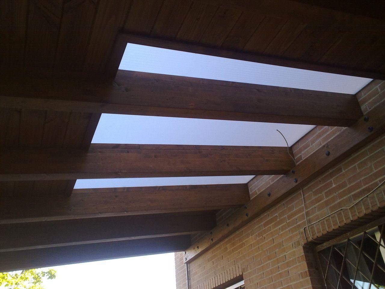 Porches garajes marquesinas pergojardin decoracion for Adornos de madera para jardin