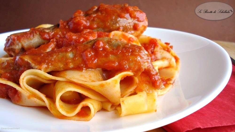 Pappardelle al sugo di papera ricetta abruzzese pasta for Abruzzese cuisine