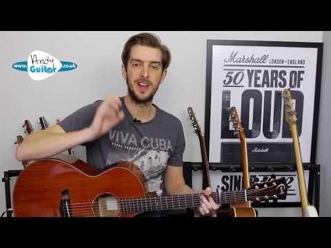 Havana Guitar Lesson Tutorial Easy 3 Chord Guitar Songs Camila