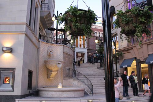 Rodeo Drive-- stood on these steps in 2008 when we stayed across the street at the beverly wilshire