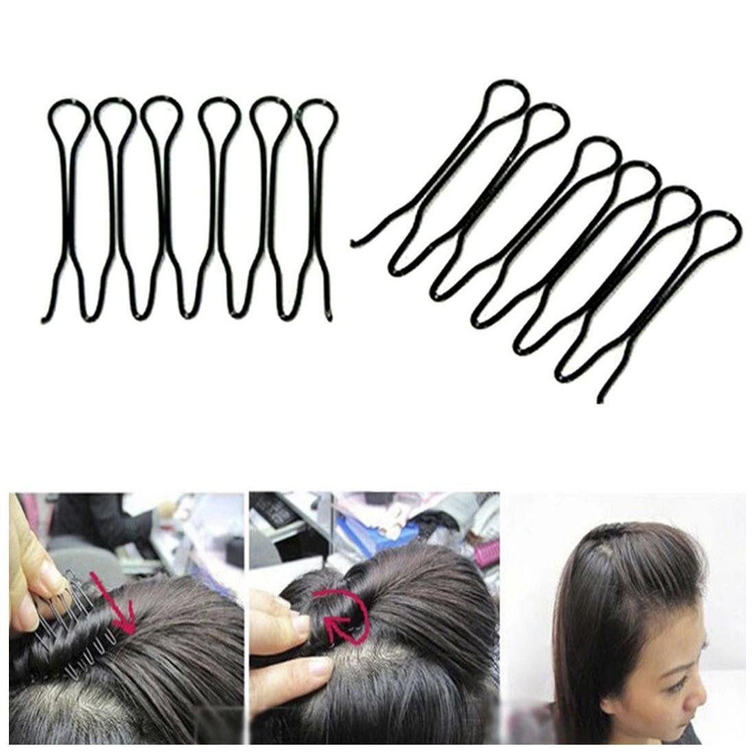 Tools & Accessories Clips Women Pcs To Medium For Hair Pin Twist Accessories Fashion Clip Stylish Spin Spiral Hair 10pcs Great Set Black Long