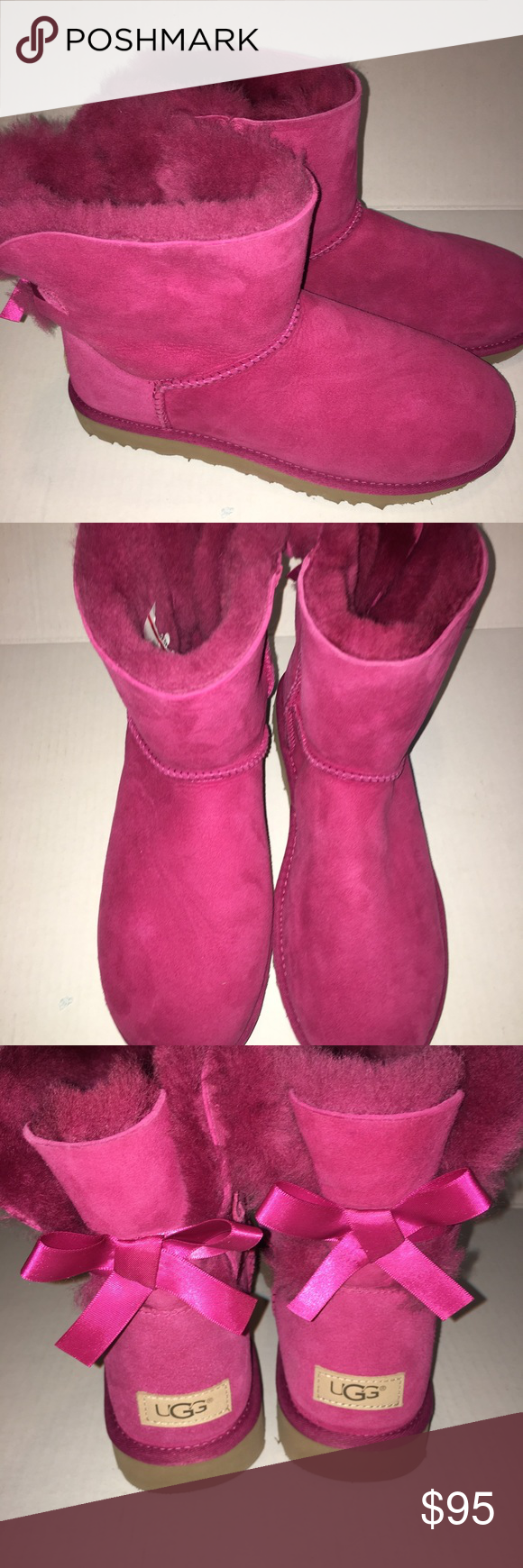 6a4ed187e1b Spotted while shopping on Poshmark: ⭐ Ugg Boots Women's Bailey Pink ...