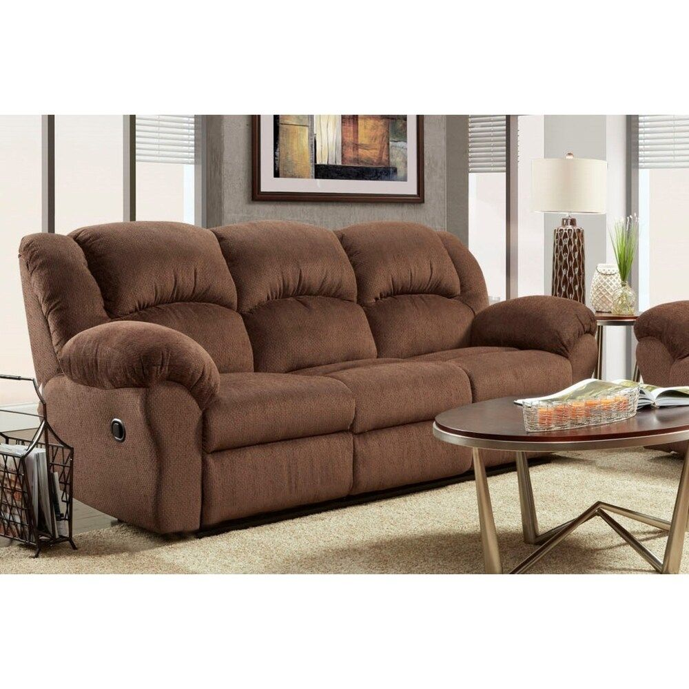 Lizabelle Pillow Top Arm Reclining Sofa (Allure Grey