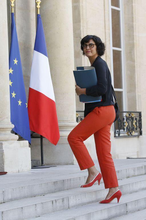 Myriam El Khomri | Red Shoes - Célébrités Présentatrices Chaussures ...