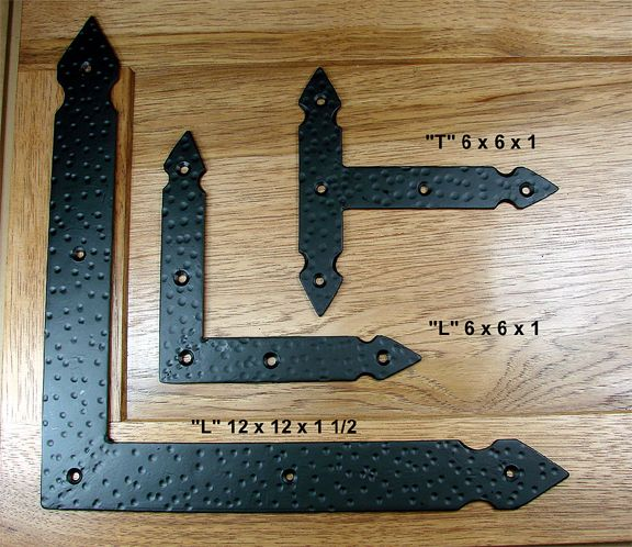 Rustic Brackets And Straps For Doors And Gates Bs Ml