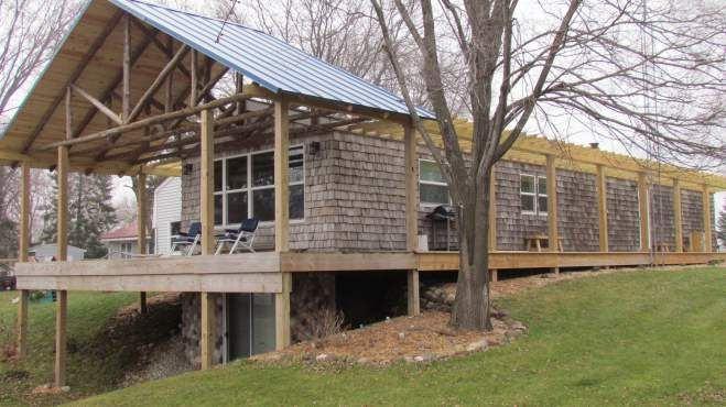 Cedar Siding On Manufactured Homes  Reclaimed Siding Remodel - Mobile home exterior renovations