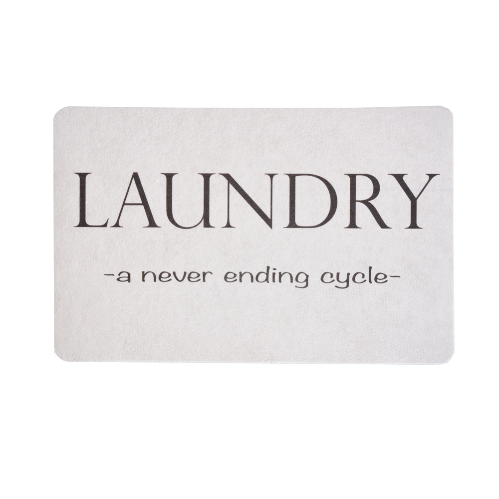 Laundry Cycle Floor Mat