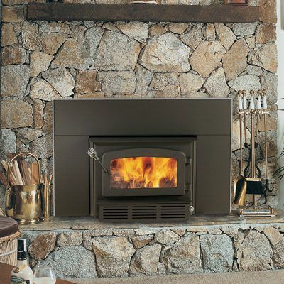 Drolet DB03120 Escape 1400 Wood Insert with Blower - Lowe ...